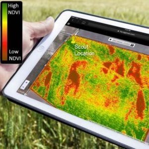 NDVI agriculture mapping tablet