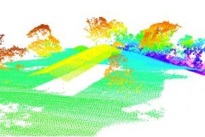 Drone LiDAR point cloud