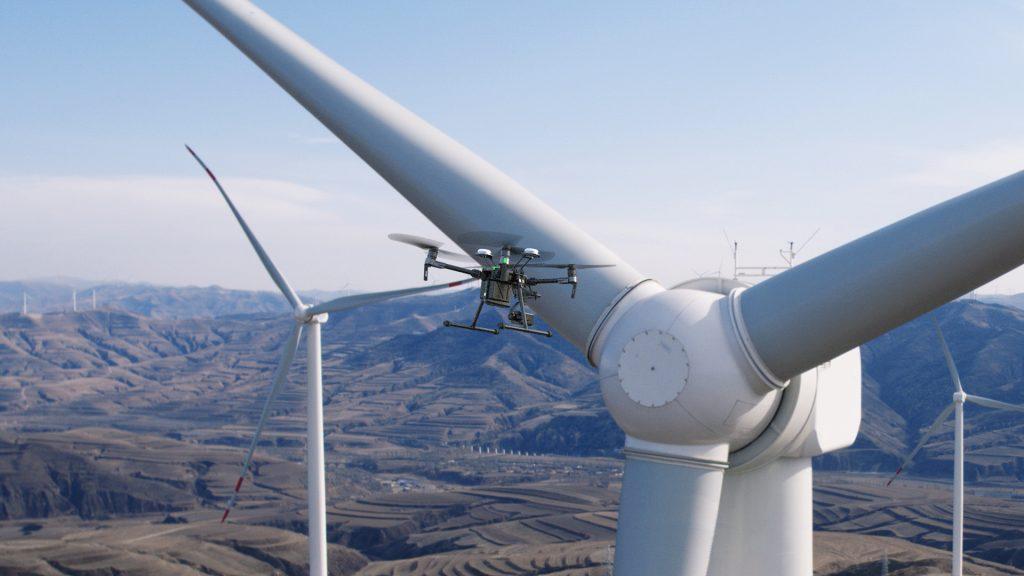 DJI-M200-M210-M210RTK-wind-turbine-windmill-inspection