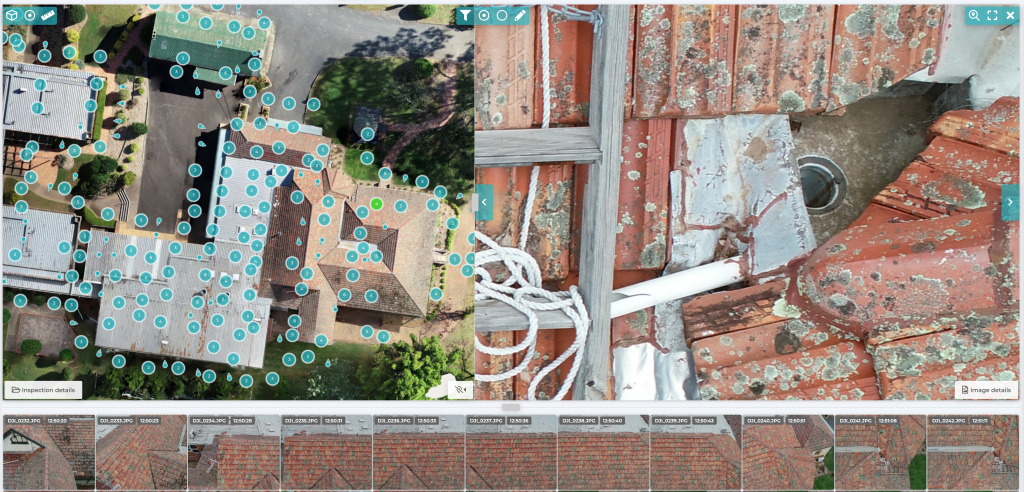 Drone Roof Inspection Report